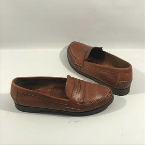 Cole Haan Country Womens Brown Leather Loafers 7.5